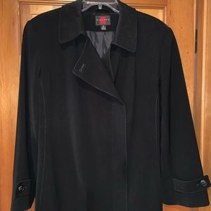Long black trench coat - Gallery - Size 12